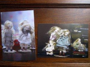 画像1: こみねゆら お人形のポストカード2枚セット(2011年)