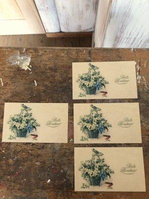画像2: ミニカード すずらん4枚組