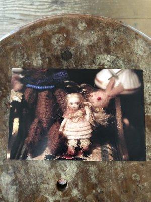 画像2: こみねゆら ポストカード 「ちびちび人形」3枚組