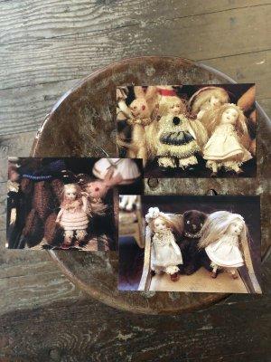 画像1: こみねゆら ポストカード 「ちびちび人形」3枚組