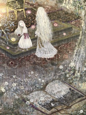 画像3: こみねゆら  複製原画「森の王座」