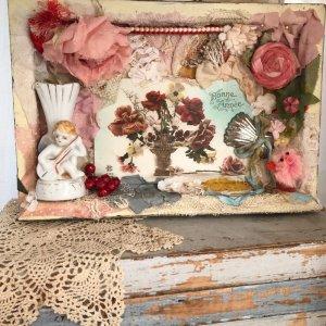 画像1: 【かわい金魚】「薔薇のある風景」