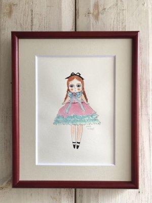 画像2: 青の羊 「少女ドール(私の人形)」